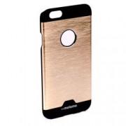 Husa de protectie Aluminiu-Plastic Motomo Metal Apple iPhone 6 / 6S anti-alunecare Auriu