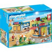 Playmobil Family Fun, Camping - Set camping la plaja