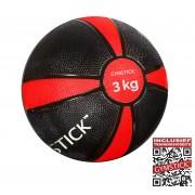 Gymstick Medicijnbal - Met trainingsvideo's - 3 kg