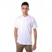 Schiesser American T-Shirt V - Neck White ( 2 pack)