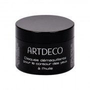 Artdeco Eye Make-up Remover Eye Make-up Remover Pads Oily salviettine detergenti per tutti i tipi di pelle 60 pz donna