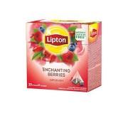 Lipton ceai infuzie fructe 20 plicuri piramida
