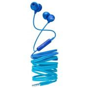 Casti Stereo Philips SHE2405BL/00, Microfon (Albastru)