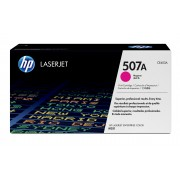 HP CE403A- 507A HP Magenta LaserJet Toner Cartridge with ColorSphere Technology