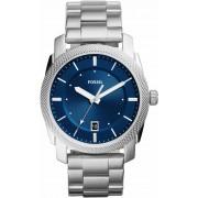 FOSSIL Uhr 'MACHINE, FS5340' weiß / blau / silber One Size