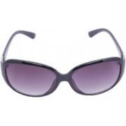 Miami Blues Oval Sunglasses(Violet)