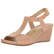 Naturalizer Women's Camilla Wedge Sandal, Ginger, 7 M US