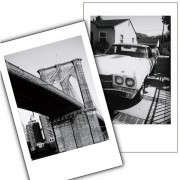 Fujifilm Instax Mini 8 Película Monocromo 10 Piezas - Blanco