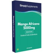 Simply Supplements Mango Africano 5000 mg - 60 Compresse