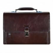 Piquadro Blue Square maletín II piel 40 cm compartimento para portátil