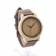 Jednoduché a zároven elegantné drevené hodinky z kvalitných materiálov