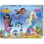 Hama Strijkkralen Hama Mermaid 4000 Delig Inclusief Edelstenen