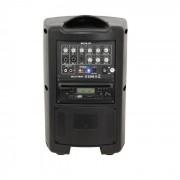 Ibiza MOV8-CD transportabelt förstärkarsystem 150W CD USB SD Bluetooth VHF