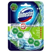 Domestos Power 5 Pine Wc frissítő blokk 55g