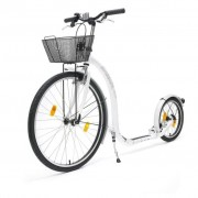 Kickbike Scooter City G4 with Basket White kbci-whi