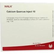 WALA Heilmittel GmbH CALCIUM QUERCUS Inject 10 Ampullen 5X10 ml