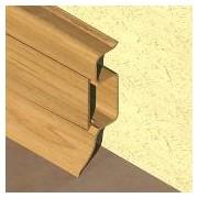 PBC505 - Plinta PROLUX din PVC culoare stejar inchis pentru parchet 50 mm