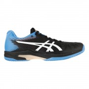 Asics Solution Speed FF Clay Tennisschoenen Heren - zwart
