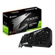 Видеокарта GigaByte GeForce GTX 1660 Ti AORUS 1890Mhz PCI-E 3.0 6144Mb 12000Mhz 192 bit HDMI 3xDP GV-N166TAORUS-6GD