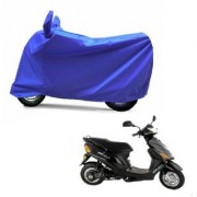 Kaaz Full Blue Two Wheeler Cover For Electric Wave Dx
