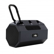 NBY 2290 Mini Portable Bluetooth Subwoofer Wireless Waterproof Outdoor Speaker Support TF Card FM Radio - Black