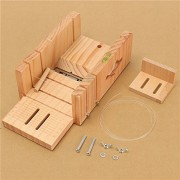 Generic Wooden Box Soap Mold Loaf Cutter Tools Handmade Precision Cutting Tool