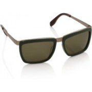 Fendi Rectangular Sunglasses(Green)
