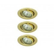 Rabalux - SET 3x LED Lampă încastrată 3xGU10/6W/230V + 3xGU10/50W/230V