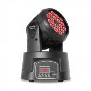 Beamz MHL Cabeza móvil 18x 3W RGB DMX Negro (150.999)