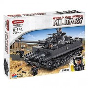 Oxford Blocks World War Series Om33013 Tiger Tank Lego Style Block Toy