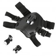 SCHIETEN Verstelbare Outdoor Huisdier Vest Harness Borstband voor GoPro Hero 5 6 4 Sessie SJCAM Yi 4 K H9 Actie Camera Gaan Pro Accessoire