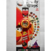 Funky dealz Angry Birds 24 Images Projector Digital Wrist Watch For Kids