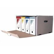 CONTAINER ARHIVARE SUPRAPOZABIL alb Container arhivare Carton