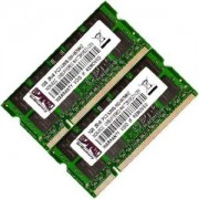 Kit Memorie Ram Laptop 2GB DDR2 667 Mhz Pc2 5300 (2X1GB)