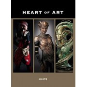 Heart of Art: Welcome to a Small Glimpse Into the Grand World of Special Effects Makeup and Fine Art of Akihito, Paperback/Akihito Ikeda