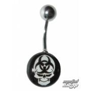 piercing ékszer Koponya - 1PCS - L 070 - MABR