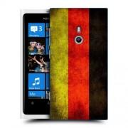 Husa Nokia Lumia 800 Silicon Gel Tpu Model Germany Flag