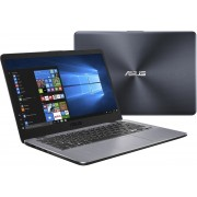 ASUS VivoBook 14 X405UA-EB585T Grijs Notebook 35,6 cm (14'') 1920 x 1080 Pixels Zevende generatie Intel® Core™ i3 4 GB DDR4-SDRAM 256 GB SSD Windows 10 Home