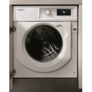 Masina de spalat rufe incorporabila Whirlpool BI WMWG 81484E EU, 6th Sense, 8 kg, 1400 rpm, Clasa A+++, Inverter, Display digital, Alb