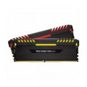 CORSAIR VENGEANCE RGB 16GB 2 x 8GB DDR4 DRAM 2666MHz C16 Memory Kit CMR16GX4M2A2666C16
