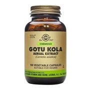 Gotu kola suplemento alimentar de centelha asiática 100cápsulas - Solgar