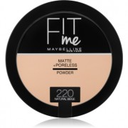 Maybelline Fit Me! Matte+Poreless матираща пудра цвят 220 Natural Beige 14 гр.