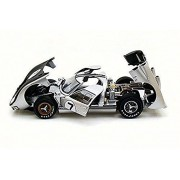 1966 Ford GT-40 MK II, Silver - Shelby SC404 - 1/18 Scale Diecast Model Toy Car