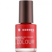 Korres Decorative Care Nail Colour esmalte de uñas tono 53 Pure Red 10 ml