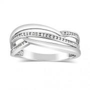 Silvego Dámský stříbrný prsten MARISA se zirkony - DMSR0409