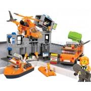 Sluban Конструктор Sluban BOX SRS Rescue Team Порт M38-B0107R (692 элемента)