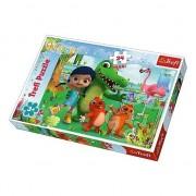 Puzzle Maxi O lume plina de prietenie Trefl, 24 piese