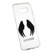 Husa de protectie Lucifer Samsung Galaxy S8 Plus rez. la uzura Silicon 298