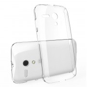 Husa Protectie Spate Ringke Slim Crystal plus folie protectie pentru Motorola Moto G