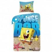 Lenjerie de pat copii Cotton Sponge Bob SBM0012